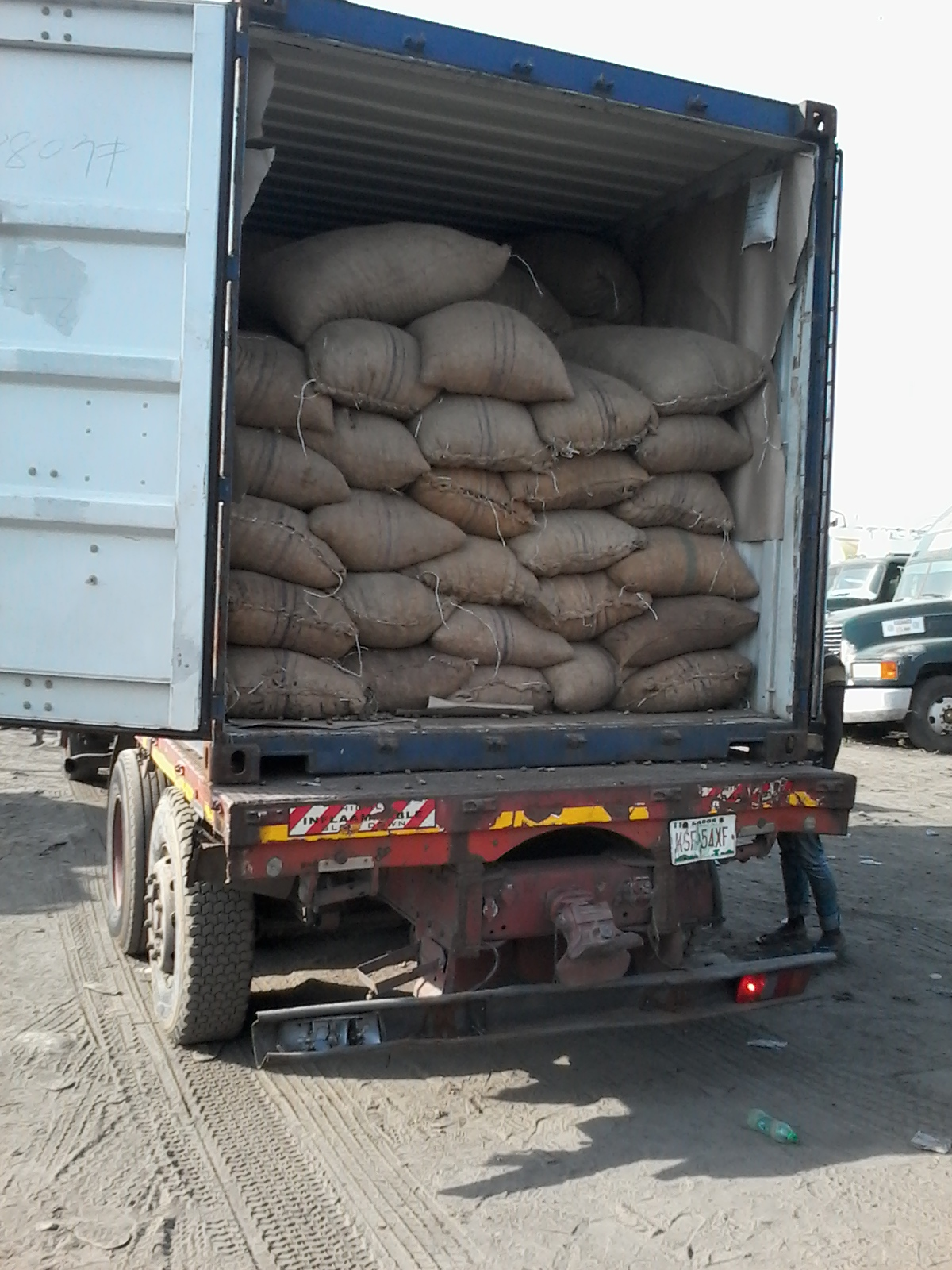 Bags of Cashew Nuts